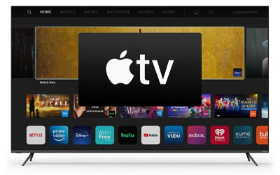vizio apple tv app