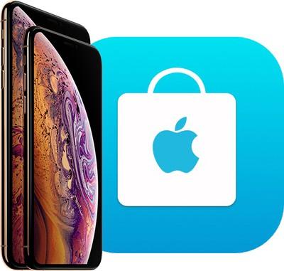 iphone xs apple store