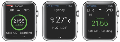 British Airways Apple Watch