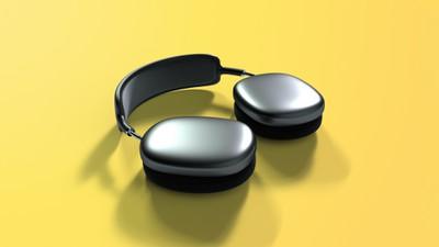 airpods studio render pivot yellow