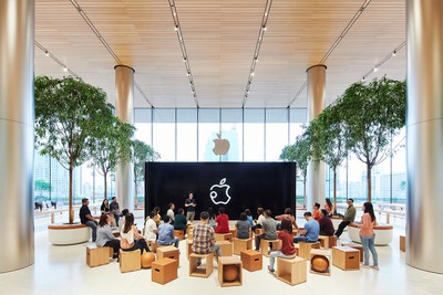 apple bangkok store opening today at apple 11072018