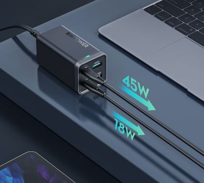ravpower 65w multiple devices