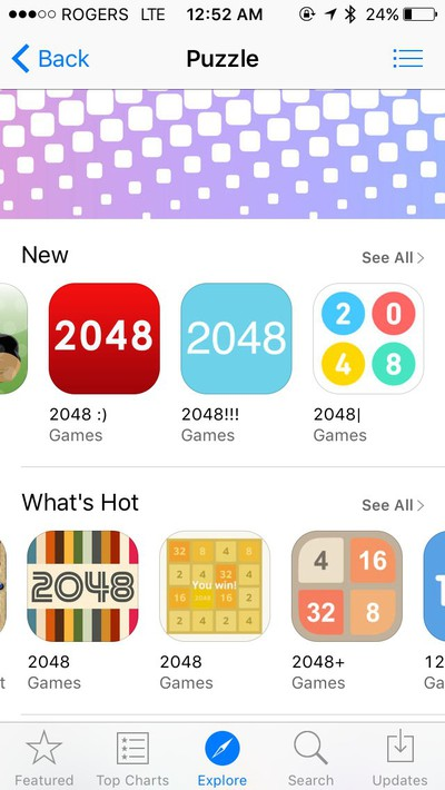 App Store algorithm