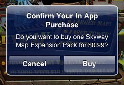 132828 in app purchase dialog