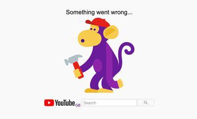youtube down