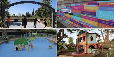 magical bridge apple sponsor playground