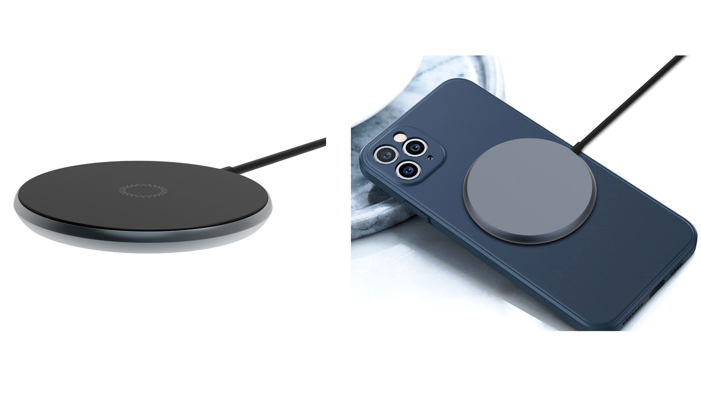 Magnetically Attached iPhone 12 Wireless Charger Unveiled Ahead of Apple Event – MacRumors