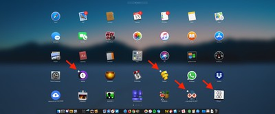 uninstall mac apps launchpad