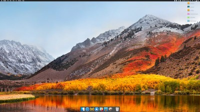 macos dock only open apps