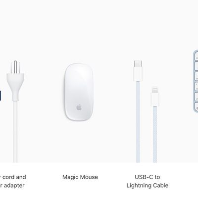 apple imac matching cables