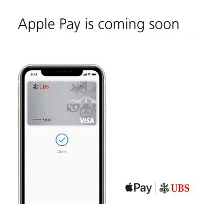apple pay ubs