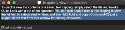 text clipping macos 1
