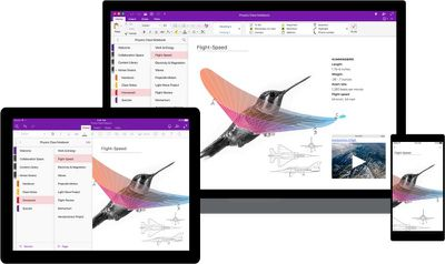 Redesigning OneNote