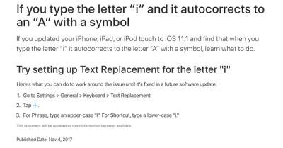 autocorrect bug