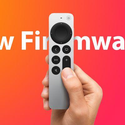 Siri Remote 2 New Firmware Feature
