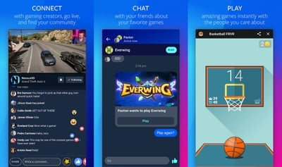 facebook gaming app android