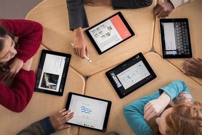 ipad students classroom