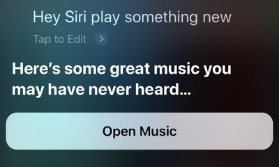 apple music siri commands