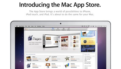introducing the mac app store banner