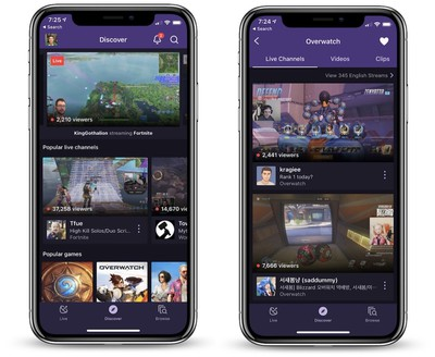 iphone x twitch app