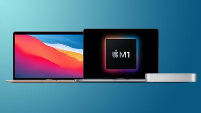 mac mini macbook pro macbook air m1