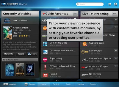 directtv ipad streaming