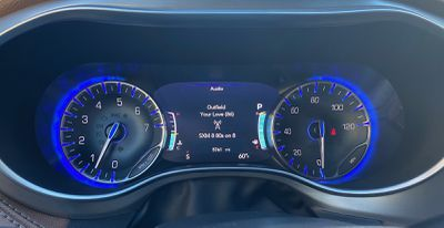 pacifica 2021 instrument cluster