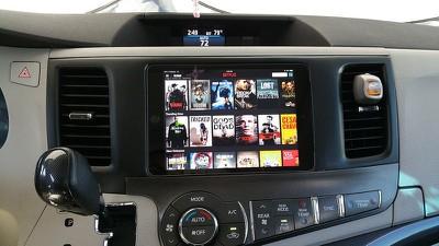 Toyota Sienna iPad