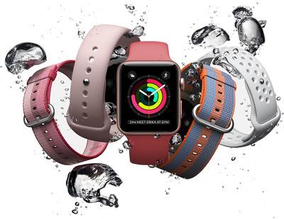 apple watch 3 splash
