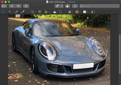 how to use the preview loupe tool