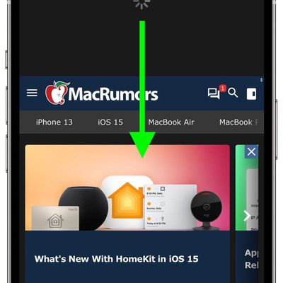ios 15 pull to refresh how to