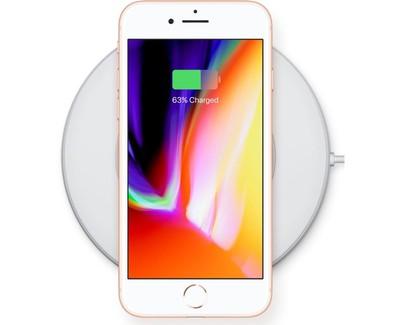 carga inalámbrica iphone8