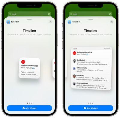 tweetbot widgets
