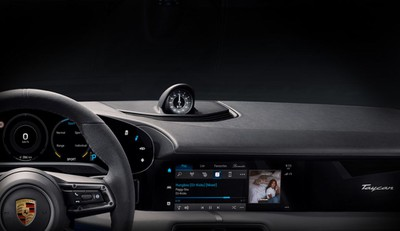 The Porsche Taycan will have the first ever full integration of Apple Music in any vehicle Image Courtesy of K7 Music