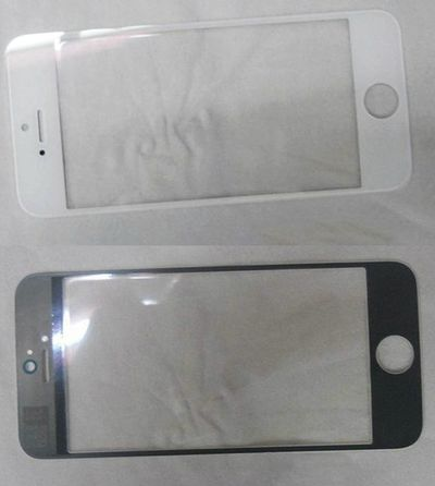 white iphone 2012 front panel