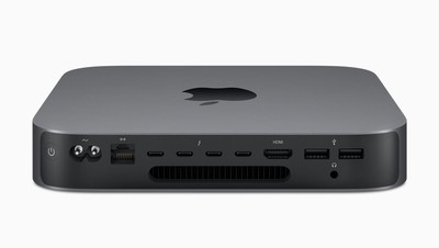 Mac Mini side ports