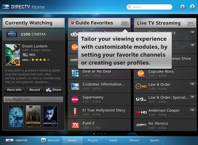 directtv ipad streaming