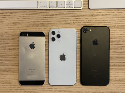 Original iPhone SE, iPhone 7, iPhone 12