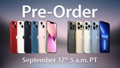 iphone 13 preorder time