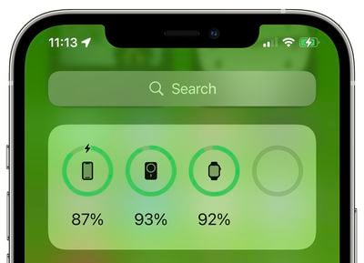 magsafe battery pack support ios 15