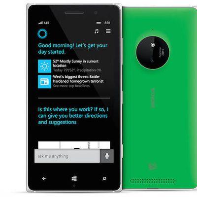 Microsoft Cortana Nokia1