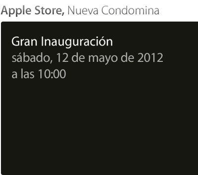 apple store nueva condomina opening