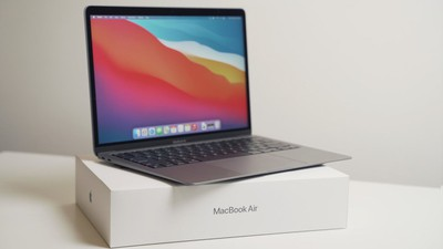 macbook air m1 unboxing