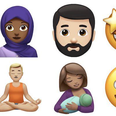new emoji apple