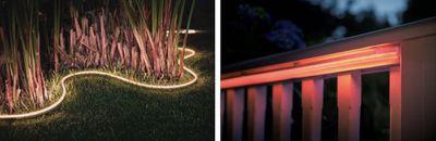 hue lightstrip outdoor image
