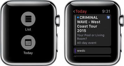 Apple Watch Calendar 3