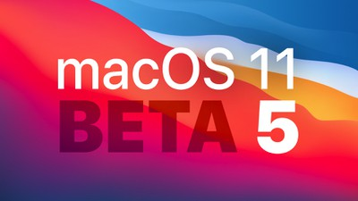 macOS dev beta 5