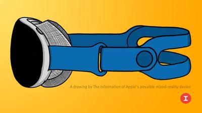 apple mixed reality headset mockup feature yellow