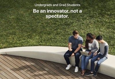 apple student internships
