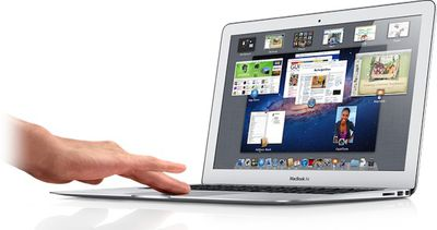 macbook air mission control hand